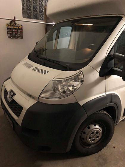 Vzduchové pérování montujeme na Peugeot Boxer