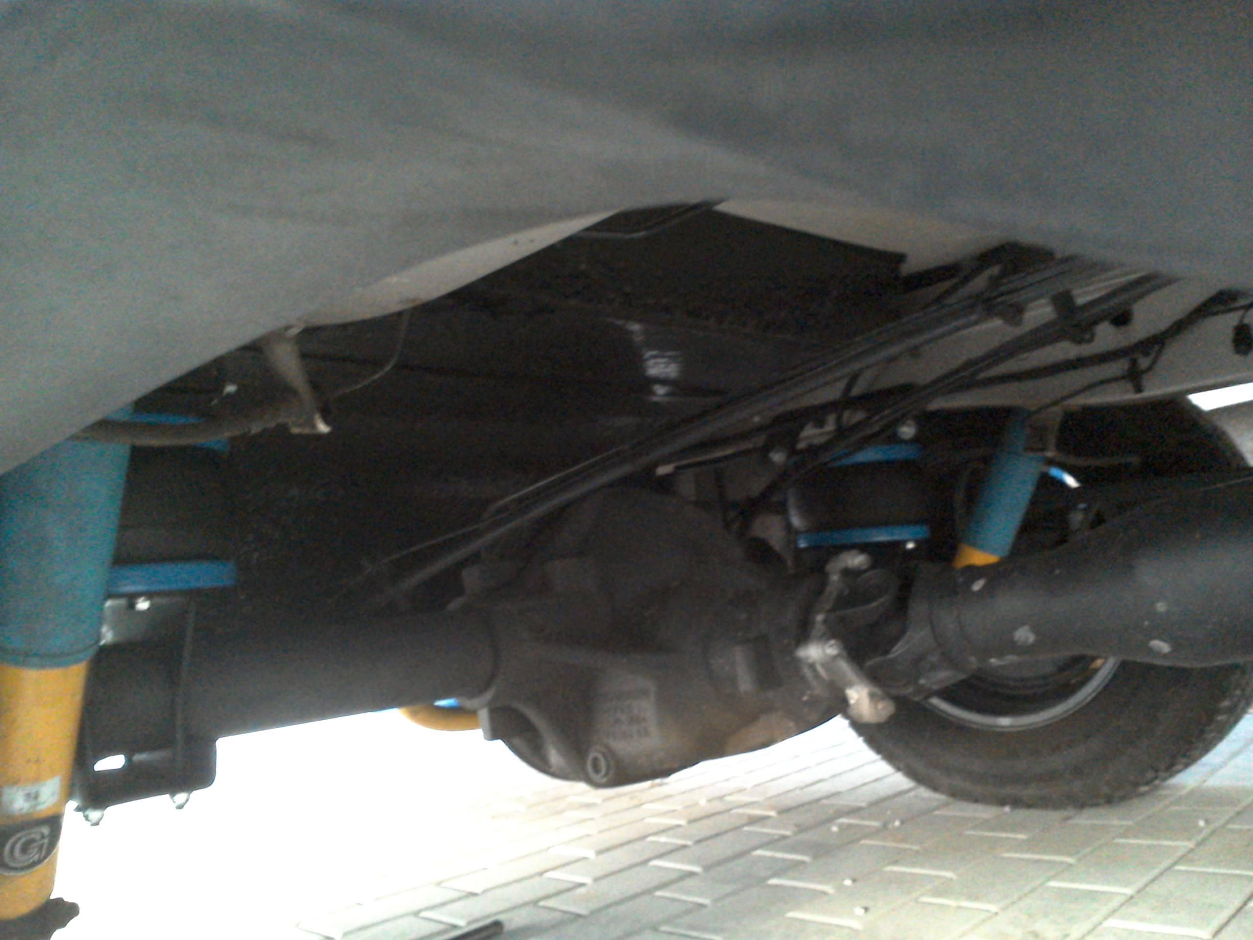 Montáž vzduchového pérování na Hymer ML-T 580 na podvozku Mercedes Benz Sprinter