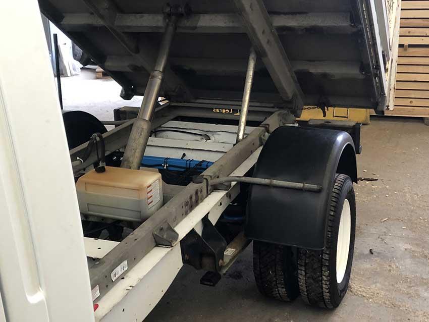 Montáž vzduchového pérování Airvans - Ford Transit - dvoumontáž