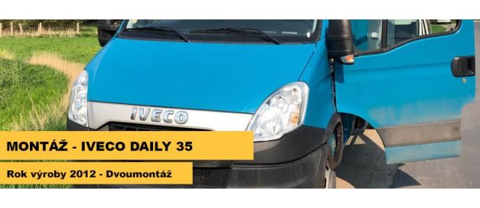 Montáž - Iveco Daily 35, r.v. 2012 - dvoumontáž