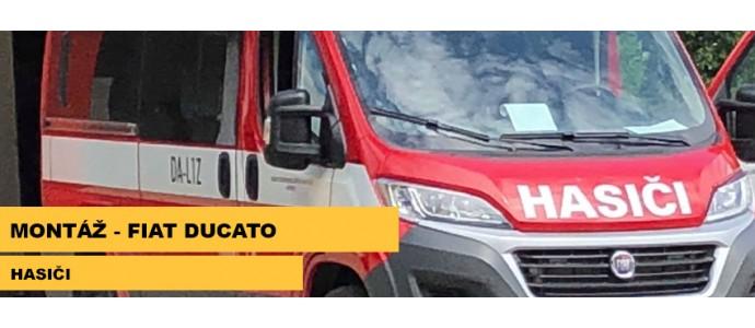 Montáž - Fiat Ducato 2017, Hasiči