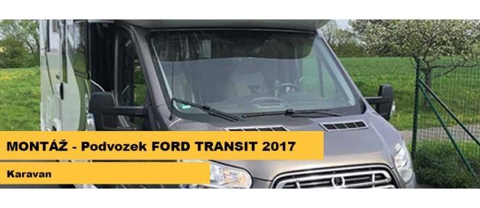 Montáž - Ford Transit r.v. 2017 - Karavan